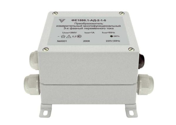 Преобразователь измерительный многофункциональный параметров 3х-фазных электрических сетей ФЕ1888.1-АД фото