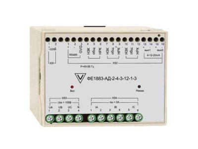 Преобразователи измерительные мощности 3х-фазных сетей ФЕ1883-АД