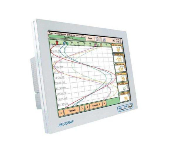 Многоканальный электронный регистратор (самописец) с сенсорным управлением REGIGRAF (Ф1771-АД)